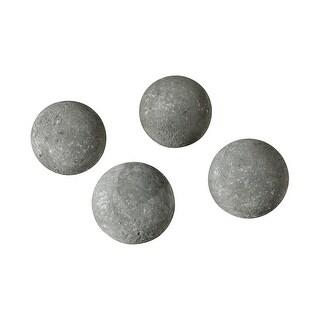 Dimond Home 387-051/S4  Rumble Four Piece Concrete Decorative Sphere Set - Concrete Gray