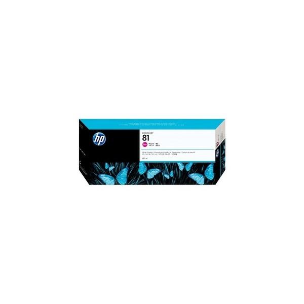 HP 81 680-ml Magenta DesignJet Dye Ink Cartridge (C4932A) (Single Pack)