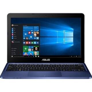 "Manufacturer Refurbished - Asus E200HA-US01-BL 11.6"" Laptop Intel Atom X5-Z8300 1.44GHz 2GB 32GB eMMC W10"