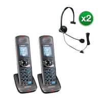 Uniden DCX400-2 w/Headset 2 Line DECT 6.0 Extra Handset