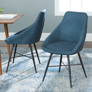 Carson Carrington Hanunda Urban Upholstered Chair (Set of 2)