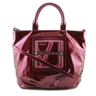 Versace Jeans Couture E1VMBBA1 Women   Patent Leather  Tote - Pink