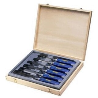 Irwin M444SB6N Blue Chip Chisel Box Set, 6 Piece