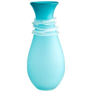 Cyan Design Small Alpine Vase Alpine 15 Inch Tall Glass Vase