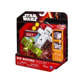 Star Wars Battle of Naboo & Battle of Hoth Box Buster Set