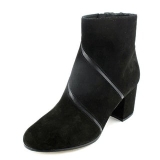 Via Spiga Fito Round Toe Suede Ankle Boot