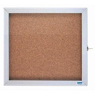 Aarco Products EBC3630 1-Door Enclosed Bulletin Board Cabinet