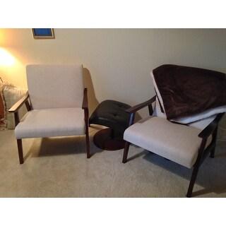Carson Carrington Karkkila Mid-century Arm Chair