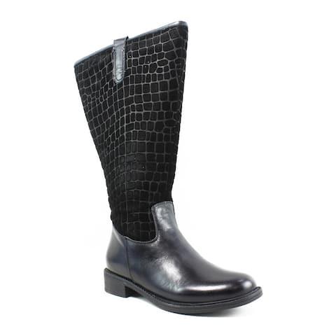 David Tate Womens Best 20 Black Fashion Boots Size 4.5