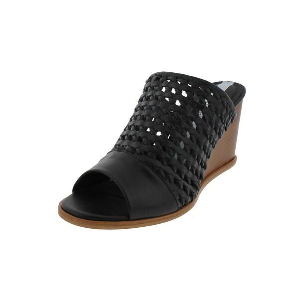 Matt Bernson Womens Pia Wedge Sandals Open Toe Dress - 9 medium (b,m)