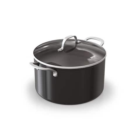 Ninja C10480 Foodi NeverStick 8-Quart Stock Pot with Glass Lid