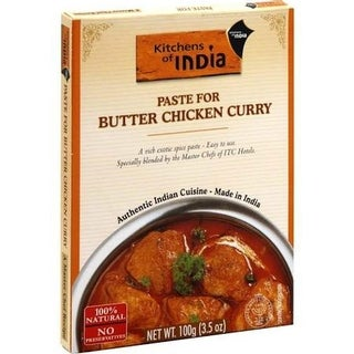 Kitchen Of India - Butter Chicken Curry Paste ( 12 - 3.5 OZ)