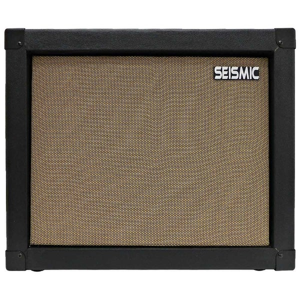 shop seismic audio 1x12 guitar speaker cab empty 12 cabinet black tolex free shipping today. Black Bedroom Furniture Sets. Home Design Ideas