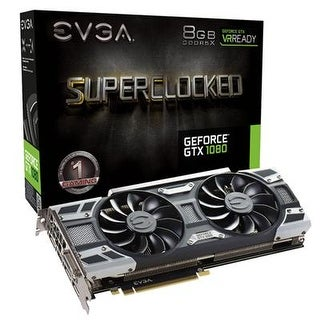 Evga 08G-P4-6183-Kr Geforce Gtx 1080 Sc Gaming Graphics Cards With 8Gb Gddr5x