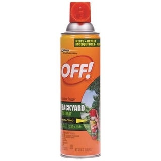 Off 01880 Yard & Deck Outdoor Fogger, 16 Oz