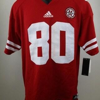 -Minor-Flaws Nebraska Cornhuskers Youth Size XL XLarge 18-20 Adidas Jersey