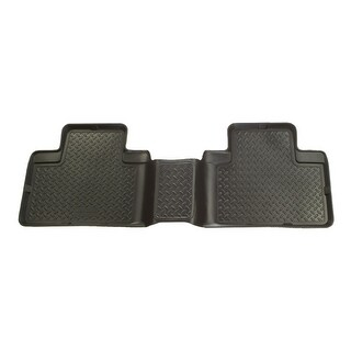 Husky Classic 2007-2010 Jeep Wrangler 4 Door 2nd Row Black Rear Floor Mats/Liners