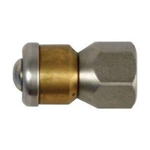 """Forney 75142 Rotating Sewer Nozzle, 1/4"""""""