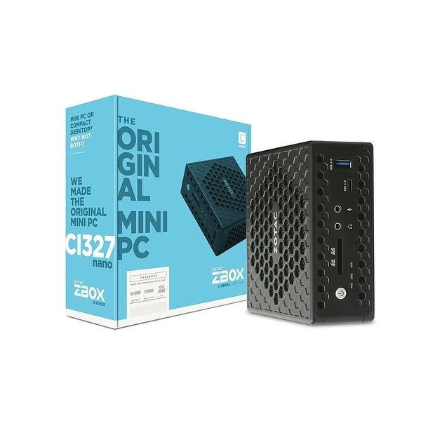 Zotac Zbox Nano C Zbox-Ci327nano-U Desktop Computer 1.10Ghz Ddr3l Sdram Mini Pc