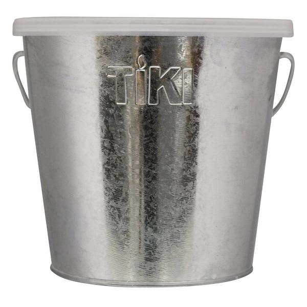 Tiki 1412110 Galvanized Citronella Bucket Candle, 17 Oz