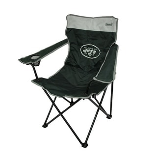 Coleman NFL New York Jets Folding Tailgate Chair w/ Carrying Case - Green