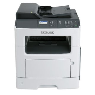 Lexmark Mx317dn Compact All-In One Monochrome Laser Printer, Network Ready, Scan, Copy, Duplex Printing And Professional