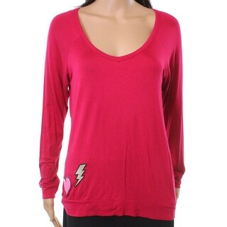 Betsey Johnson NEW Red Women's Medium M Patch Me If You Can Sleepwear