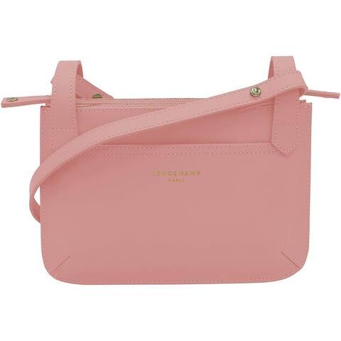 Longchamp Womens Pink Cross Body Messenger Handbag