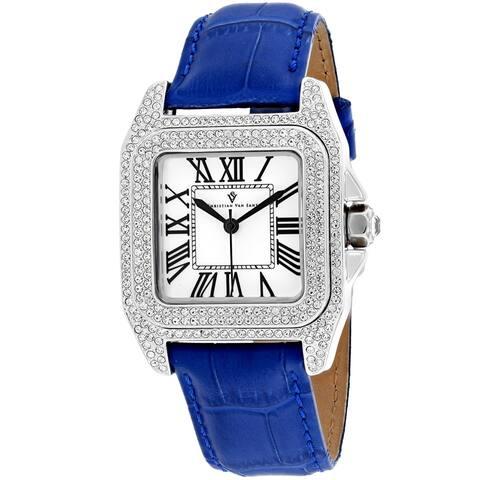 Christian Van Sant Women's Radieuse White Dial Watch - CV4422 - One Size