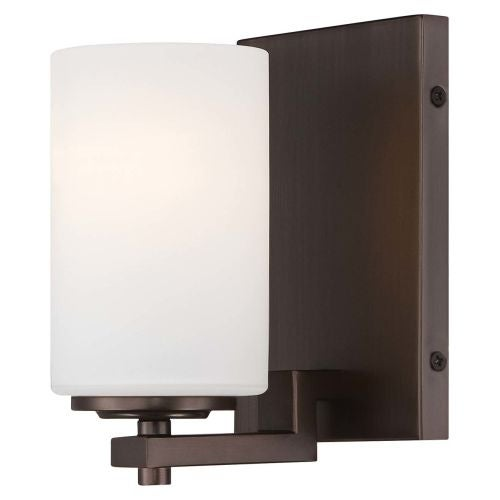 Minka Lavery 5411-281 1 Light Bathroom Sconce from the Morlaix Collection