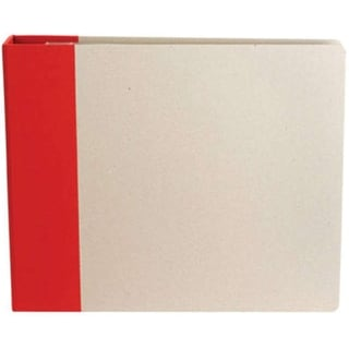 "American Crafts Modern D-Ring Album 12""X12""-Cardinal - Red"
