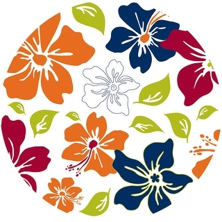 "Brewster TWPD90257  13"" Diameter - Island Fusion Dot - Self-Adhesive Repositionable Vinyl Wall Decal - Set of 10"