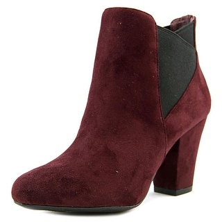 BCBGeneration Dolan   Round Toe Suede  Ankle Boot