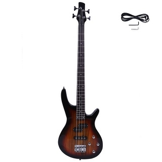 Exquisite Stylish IB Bass with Power Line and Wrench Tool Sunset Color