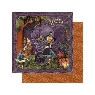 Graphic 45 Halloween/Wonder Paper 12x12