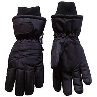 N'Ice Caps Boys Waterproof Lined Winter Gloves - 4-5