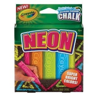 Crayola - Neon 3-D Chalk Play Pack