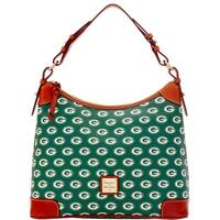 Dooney & Bourke NFL Green Bay Packers Hobo Shoulder Bag (Introduced by Dooney & Bourke at $218 in Aug 2016)