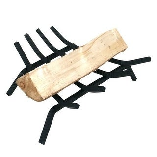 "Vestal 16055 Fireplace Grate, Steel, Painted, 16"" x 13"" x 12"""