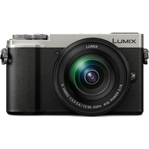 Panasonic LUMIX GX9 Mirrorless Camera w/ 12-60mm F3.5-5.6 Lens(Silver)