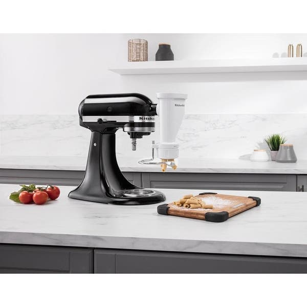 Shop KitchenAid KSMPEXTA Gourmet Pasta Press Attachment with ...