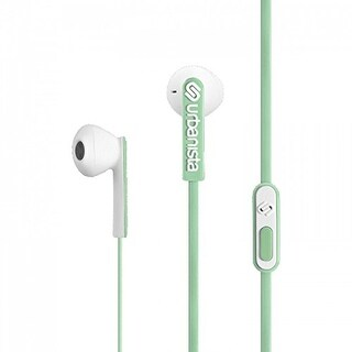 Urbanista San Francisco Ergonomic Earphones with Remote and Mic, Frozen Margarita/Mint - 2 x 4.7 x 1.2