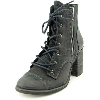 Coolway Mc-21 Women  Round Toe Leather  Ankle Boot