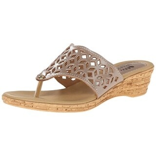 Spring Step Womens Amerena Leather Open Toe Casual Platform Sandals - 9