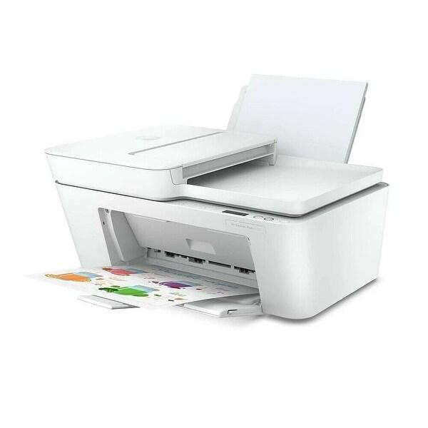 HP DeskJet Plus 4152 All-in-One Printer RENEWED (7FS74A) - WHITE. Opens flyout.