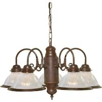 "Nuvo Lighting 76/445 5 Light 22"" Wide Chandelier"