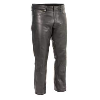 Men's Classic 5 Pocket Leather Pants (Option: Xl)|https://ak1.ostkcdn.com/images/products/is/images/direct/c891acced2a14d0705340c8aeb7c0708edab8f23/Men%27s-Classic-5-Pocket-Leather-Pants.jpg?impolicy=medium
