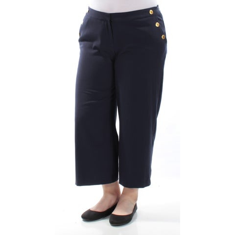 KENSIE $69 Womens New 1045 Navy Wear To Work Pants XS B+B