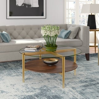Link to Carson Carrington Saliesta Mid-Century Modern Coffee Table Similar Items in Living Room Furniture