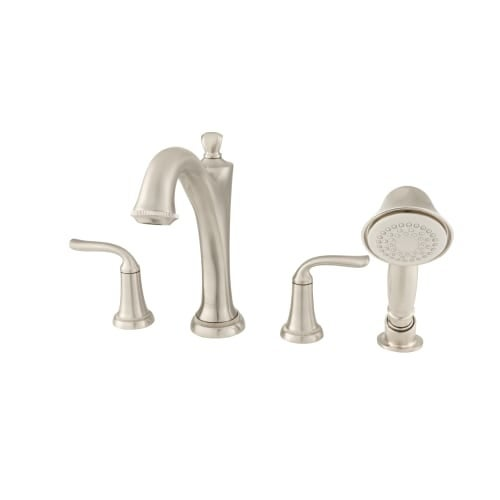 American Standard 7106 901 Patience Deck Mounted Roman Tub Faucet Trim With Buil Free Shipping Today 26692937